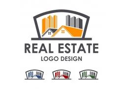 卡通房子标志设计