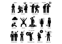 矢量卡通人物设计图片