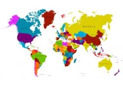 世界地图图片
