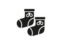 卡通婴儿袜背景设计