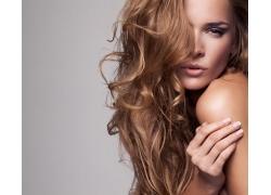 性感的金发美女