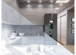 厨房3D效果图设计