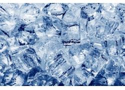 冰块底纹背景