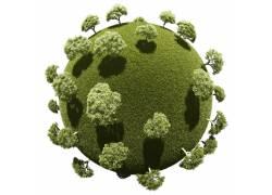 保护地球环境爱护树木素材