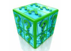 立方体上的问号