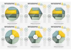 彩色图形信息图表
