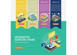 城市科技信息图表