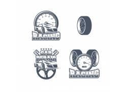 汽车轮胎仪表图案设计