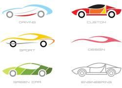 线条汽车标志