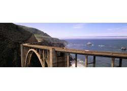 海岸公路大桥美景