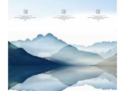 中国风展板背景设计