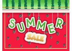 关于夏季促销宣传海报设计