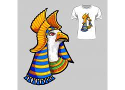 印度花纹T恤印花设计