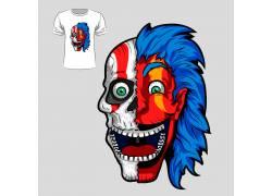 魔鬼时尚T恤印花设计