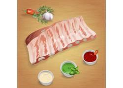辣椒牛肉卡通图标图片