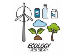 节能环保素材设计