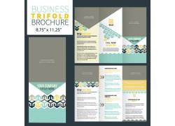 三折页设计排版图片