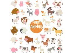 卡通动物集图片