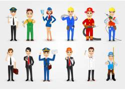 职业人物设计图片