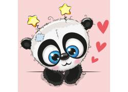 一只可爱的小熊猫