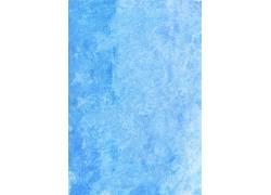 蓝色水彩笔触背景