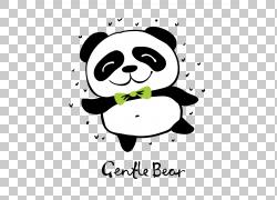 可爱的卡通熊猫图片