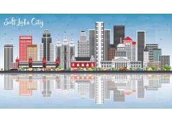 城市建筑模型
