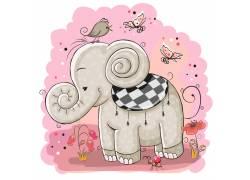 卡通形象大象动物图片