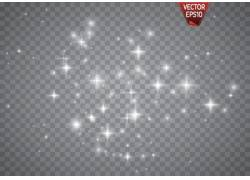 星星明亮的背景