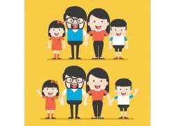 快乐的一家人