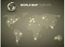 世界地图设计图片