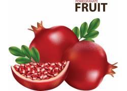 红石榴水果