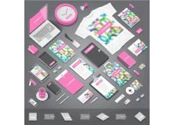 彩色VI模板设计
