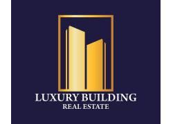金色建筑公司logo