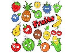卡通手绘水果