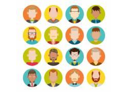 卡通人物头像设计图片