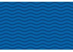 蓝色曲线背景图片