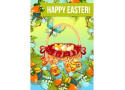 复活节节日背景设计
