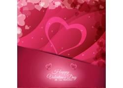 情人节节日背景设计