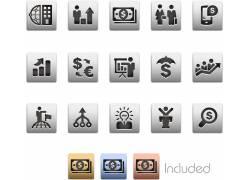 金融商务图标设计