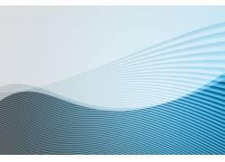蓝色曲线底纹图片