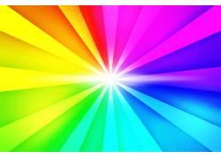 彩虹放射图