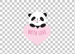 可爱卡通熊猫图片