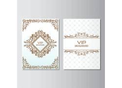 古典花纹卡片