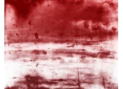 红色水彩底纹背景