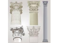 罗马柱局部装饰
