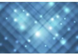 蓝色线条光点背景