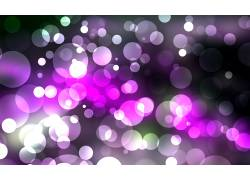 紫色光点背景