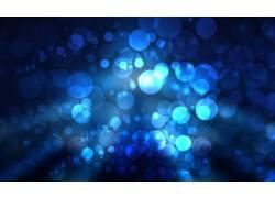 蓝色光点背景