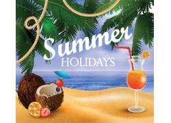 夏季夏威夷冷饮